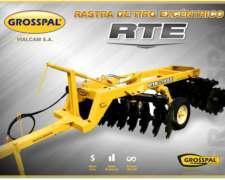 Rastra Grosspal de Tiro Excéntrico RTE