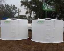 Cisternas Desde 3.000 Lts. Hasta 42.000 Lts. P.r.f.v.