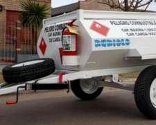 Acoplado Cisterna Combustible para 1.000 Lts.