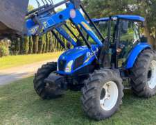 Tractor New Holland TD 5.90 DT con Cargador Frontal