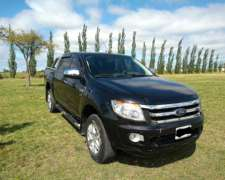 Vendo Ford Ranger 3.2 XLT 2012 Impecable 117.000km