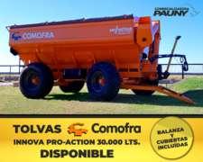 Tolva Comofra Innova 30.000 Lts
