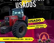 Tractor Massey Ferguson 680 - 180 HP - Mod. 2006