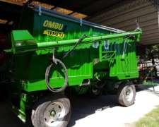 Tolva Semilla Fertilizante Ombu 13m3. Entrega Inmediata