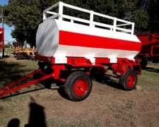 Acoplado Tanque para Combustible de 3000 Litros Usado