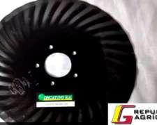 Cuchillas Turbo / Discos Sembradoras 18 X 4 MM. 18 Ondas.