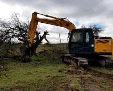 Excavadora Hyundai Robex 140 Lcd -7