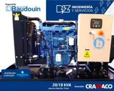Grupo Electrógeno Bounous 20 KVA Trifásico