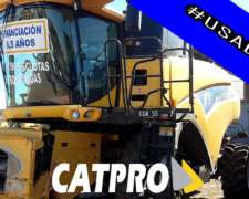 New Holland Cr9060 C/draper De 40 - Fin. Especial 6.5 Años