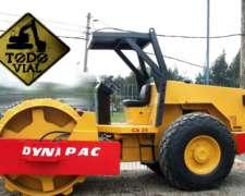 Compactador Dynapac CA25 2000 Pata Cabra Cummins Todo Vial