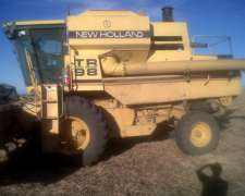 New Holland TR98 con 30 Pies a Lona