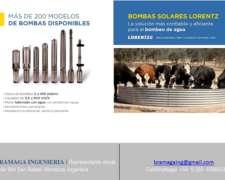 Bombas Solares Lorentz, Tecnología Alemana.