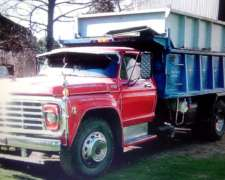 Camion Ford F 7000 Volcador muy Bueno