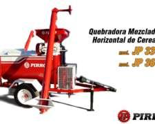 Quebradora Mezcladora Horiz. de Cereales Pirro JP 3300/3600