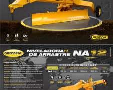 Niveladora de Arrastre NA12 Na14. Grosspal Nueva