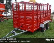 Jaula para Hacienda Muccillo