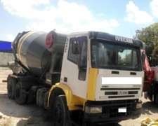 Mixer Hormigonero Iveco Eurocargo 260e25 6x4 Trompo 8m3