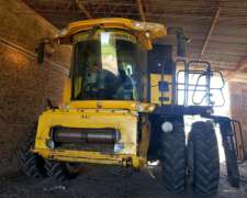 New Holland Cr 9080, Draper 40 Mac Don