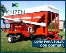 Lonas Para Tolvas Semilleras Y Fertilizadoras Con Costura.