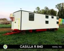 Casilla Rural R840 Equipamiento Premium para 4 Personas