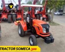 Tractor Someca 300 Tracción 4X2 Taurus Agrícola 30 HP