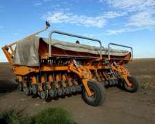 Sembradora Agrometal MXY 37 Líneas a 17,5 cm
