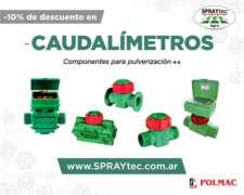 Caudalímetros Polmac para Pulverizadoras