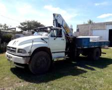 Camion Ford 14000 Con Grua, 8 Tn , 14 Mts De Altura.