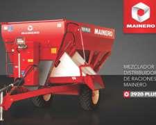 Mezclador Y Distribuidor De Raciones 2920 Plus - Mainero