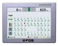 Consola FGS (agrotax) para Monitor de Siembra
