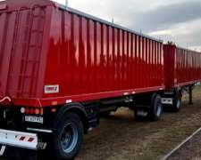 Tolva Cerealera Tipo Full-trailer Ombu-nueva- Disponible