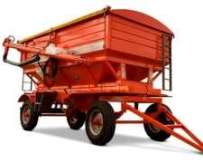 Tolva Fertilizante Y Semillas Gimetal Ac 14000