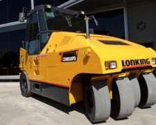 Compactador Neumático Cdm526 Biscayne Lonking