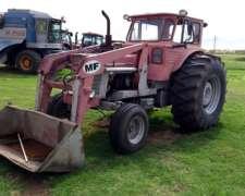 Massey Ferguson 1098 con Pala