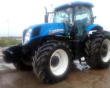 Tractor New Holland , Modelo T7.205 - año 2017 - 2000 Hs