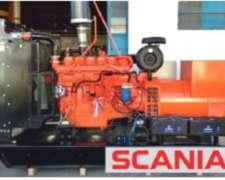 Grupo Electrógeno Diesel Scania Rossuar