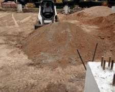 Limpieza, Nivelación, Excavaciones, Piletas, Demoliciones