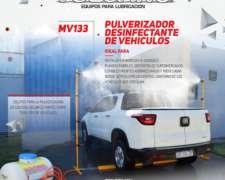 Pulverizador Desinfectante de Vehículos - Nuevo / Tanque 120