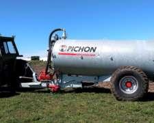 Estercolera Pichon TCI 7.150 Litros , Galvanizada
