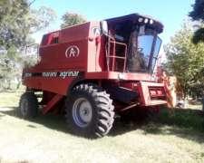 Cosechadora Agrinar 2121 M C/maicero de 7 a 52 y Plataforma