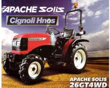 Tractor Apache 26 HP, 3p, DT, TDF Ind, Cignoli Hnos.