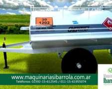 Tanque de Combustible Homologado Chulengo 1500lts. YPF