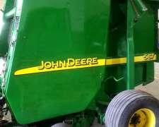John Deere 567 año 2007.- Toda Reparada.- Impecable