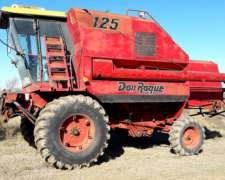 Cosechadora Don Roque 125 con 23 Pies Motor Perkins
