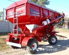 Acoplado Tolva Semilla y Fertilizante Metalpaz de 12tn.