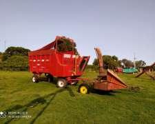 Picadora Fraga 2160 con Carro Forrajero Ombu AFO14