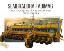 Sembradora Fabimag de 14 a 52 Líneas con Monitor de Siembra