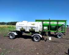 Tanque de 6000 Litros de Agua Plastico Metalfor