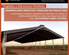 Estructuras Metálicas - Galpones y Tinglados
