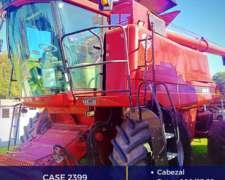 Case 2399 con Cabezal